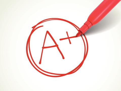 a+ grades